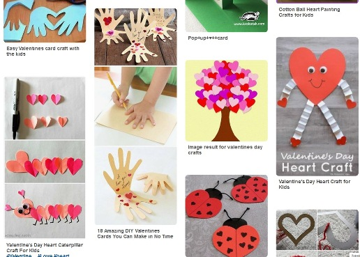 Поделки на день святого Валентина