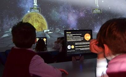 День космонавтики в Информационном центре атомной энергетики