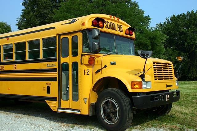 Школьный автобус. Экскурсии